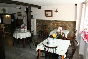 The Café Interior